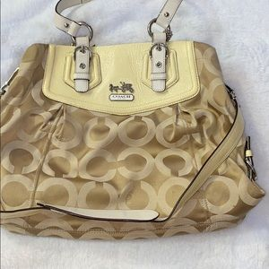 Authentic Coach Madison Satchel Crossbody (2011)
